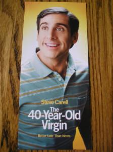 40 year old virgin
